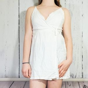 Urban Outfitters Dress/Swim Cover, Faux Wrap